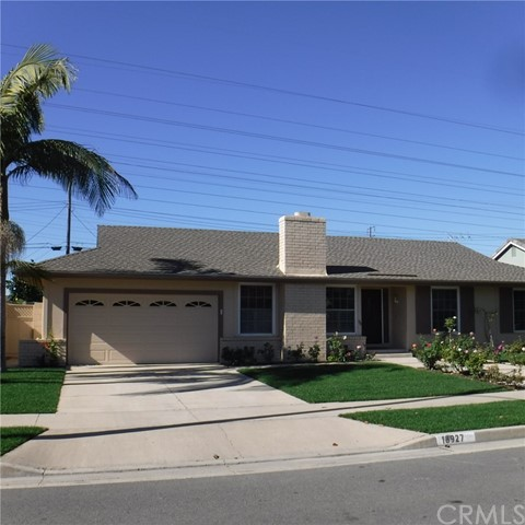 Single Family Home for Rent at 18927 Santa Mariana Street Fountain Valley, California 92708 United States