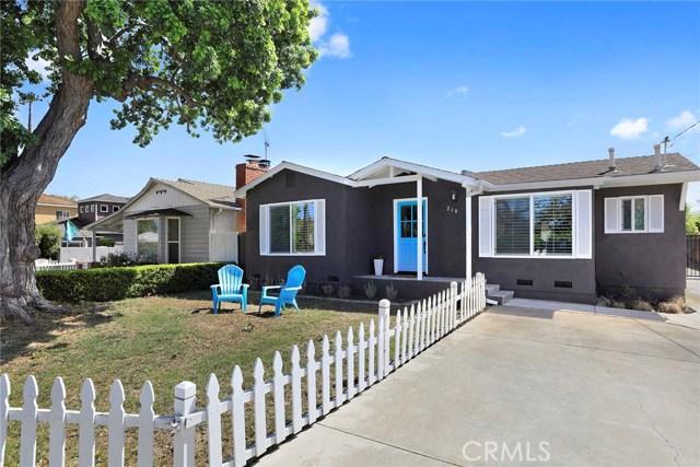Single Family for Sale at 219 Santa Isabel Avenue Costa Mesa, California 92627 United States