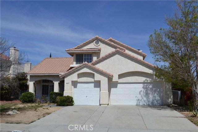 2891 Chuckwagon Road Palmdale, CA 93550 - MLS #: OC18083010