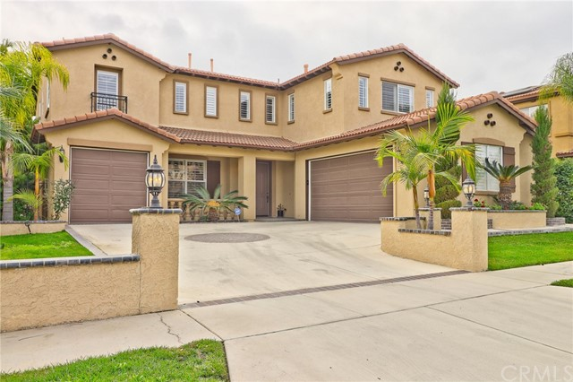 Photo of home for sale at 1014 Mccall Drive, Corona CA