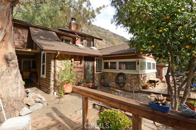 Single Family Home for Sale at 28751 Sycamore Drive Silverado, California 92676 United States