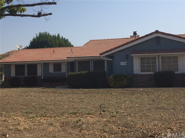 7138 Reche Canyon Road Colton, CA 92324 is listed for sale as MLS Listing EV17149212