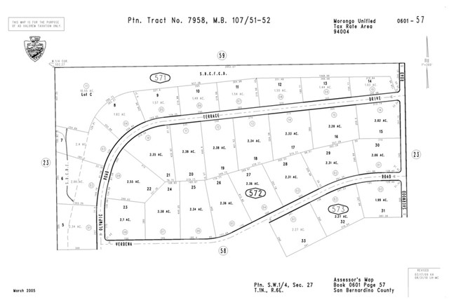 Land for Sale at 0 Olympic Road 0 Olympic Road Joshua Tree, California 92252 United States