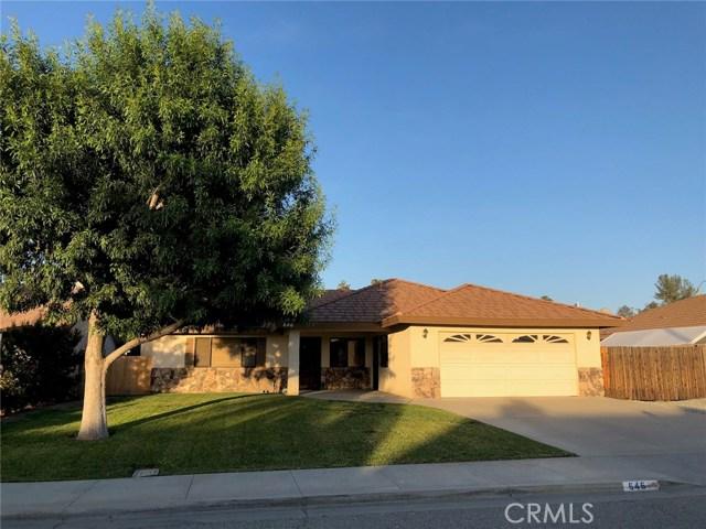 646 Deardorff Drive Hemet, CA 92544 - MLS #: SW18143211