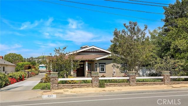 Single Family Home for Sale at 18411 Santiago Boulevard Villa Park, California 92861 United States