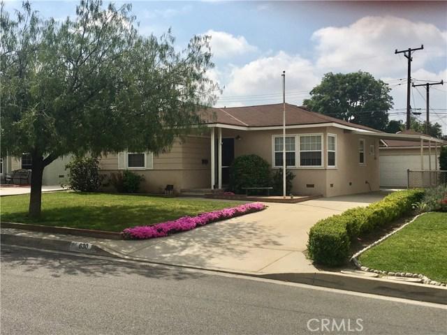 630 Lochleven Street, Glendora, CA 91741