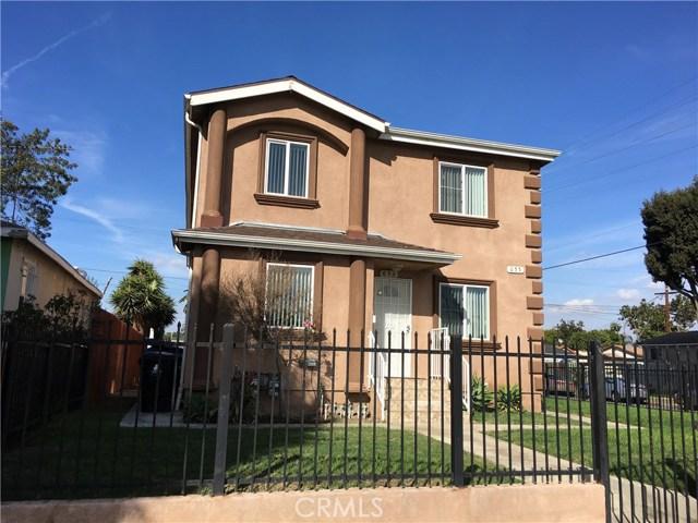 653 E 84th Street Los Angeles, CA 90001 - MLS #: TR17249615