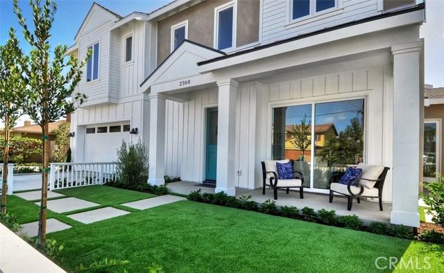 Single Family Home for Sale at 2360 Orange Avenue Costa Mesa, California 92627 United States