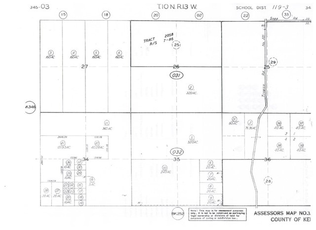 Detail Gallery Image 1 of 1 For 0 Gem Hill Road, Mojave,  CA 93501 - – Beds | – Baths