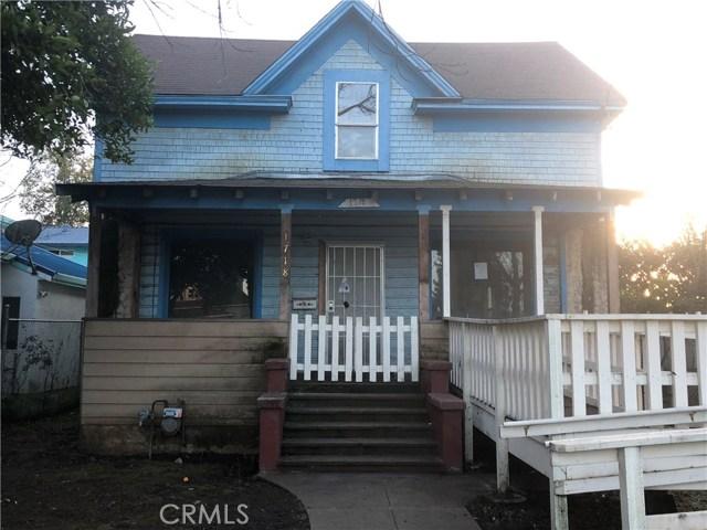 1718 Laurel Street, Chico, CA 95928