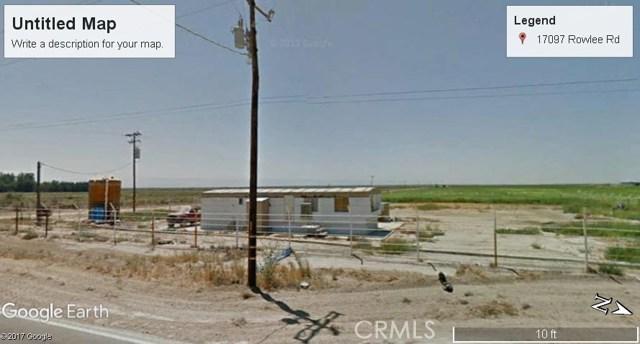 17097 ROWLEE Road, Wasco, CA 93280