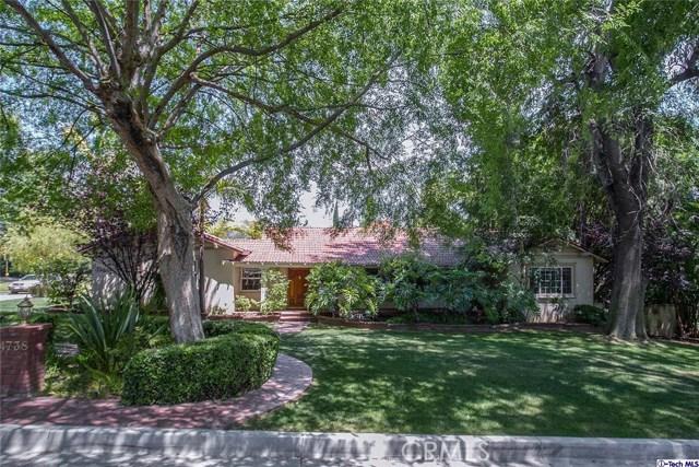 Single Family Home for Rent at 4738 Orange Knoll Avenue La Canada Flintridge, California 91011 United States