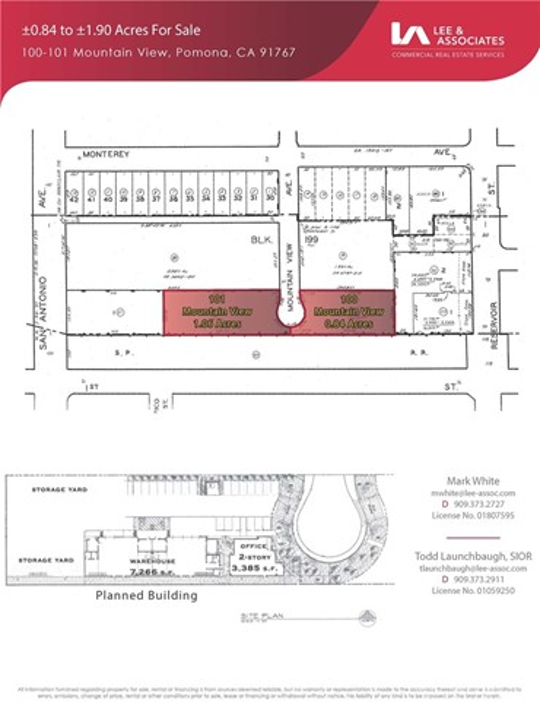 100 N Mountain View Avenue Pomona, CA 91767 - MLS #: WS17164282