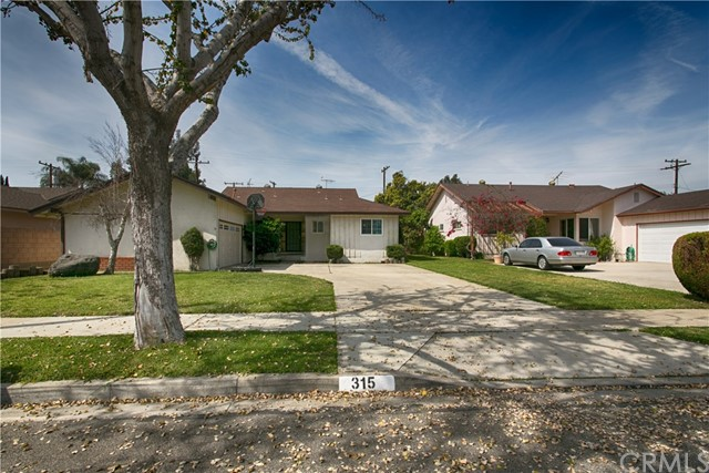 315 S Gain Street Anaheim, CA 92804 is listed for sale as MLS Listing OC17053644