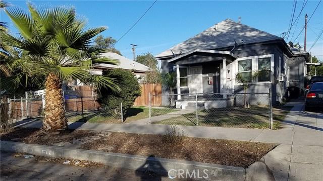 Single Family for Sale at 123 J Street N San Bernardino, California 92410 United States