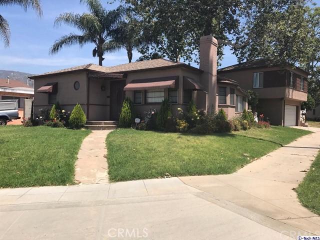 Single Family for Sale at 716 Kellogg Avenue Glendale, California 91202 United States