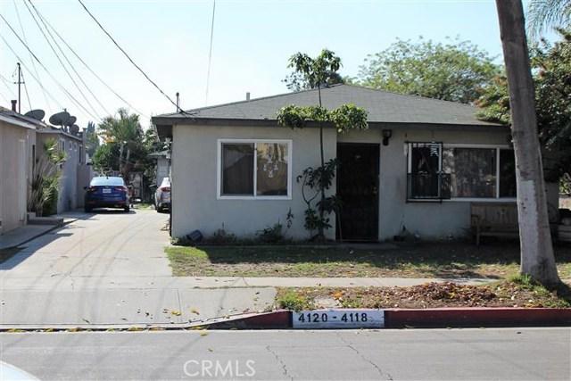 Single Family for Sale at 4118 Walnut Street Cudahy, California 90201 United States