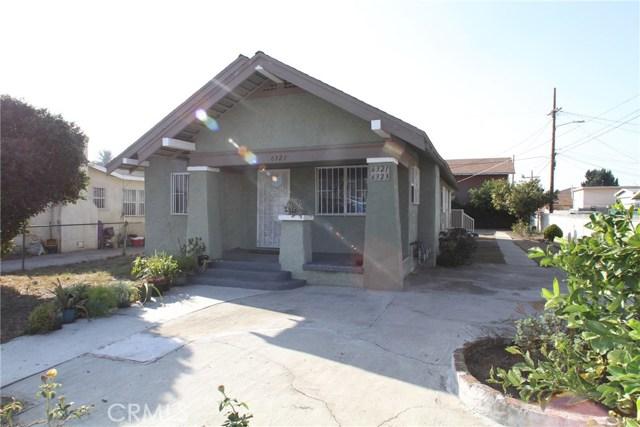 Residential Income for Sale at 6321 Denver Avenue 6321 Denver Avenue Los Angeles, California 90044 United States