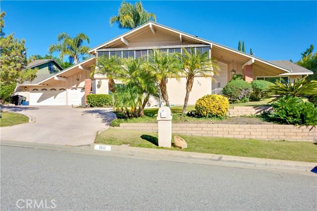 Single Family Home for Sale at 160 Lilac Lane Brea, California 92823 United States