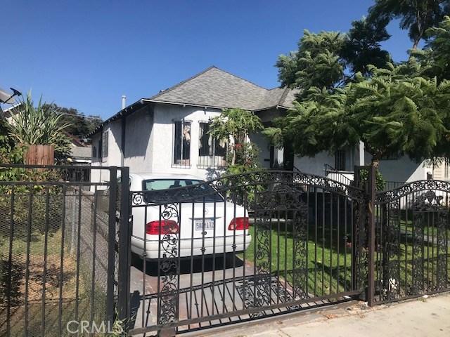 1207 E Adams Boulevard  Los Angeles CA 90011