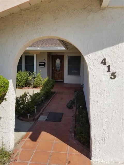415 Gina Drive Carson, CA 90745 - MLS #: PW17202910
