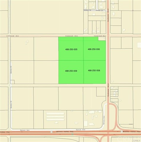 Land for Sale at 12181 Redlands Blvd Moreno Valley, United States