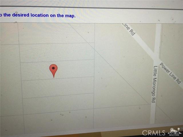 Little Morongo Road Desert Hot Springs, CA 92258 - MLS #: 217015384DA