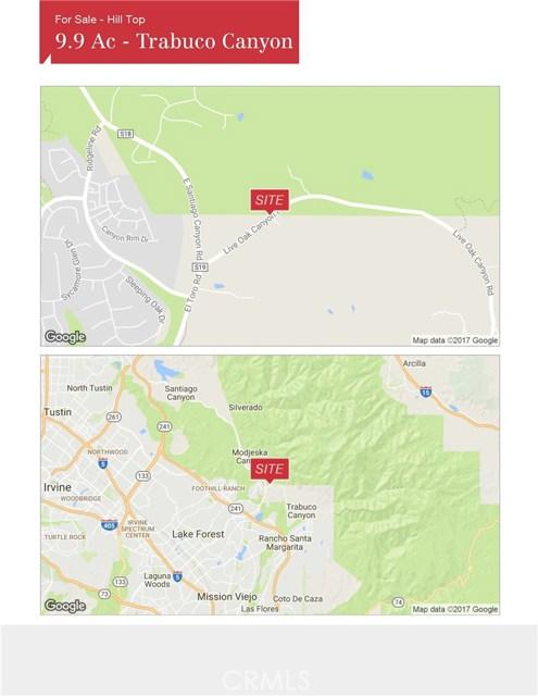 19173 Live Oak Canyon Road Trabuco Canyon, CA 92679 - MLS #: IV17266787