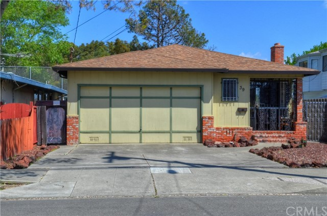Single Family Home for Sale at 39 Maitland Drive Alameda, California 94502 United States