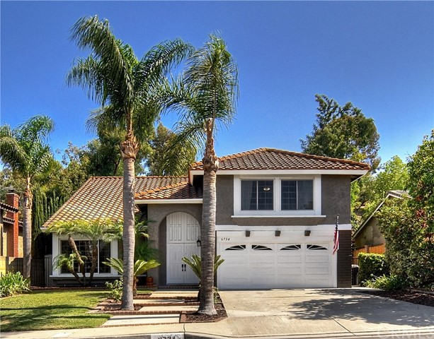 One of Custom Built Anaheim Hills Homes for Sale at 6734 E Kentucky