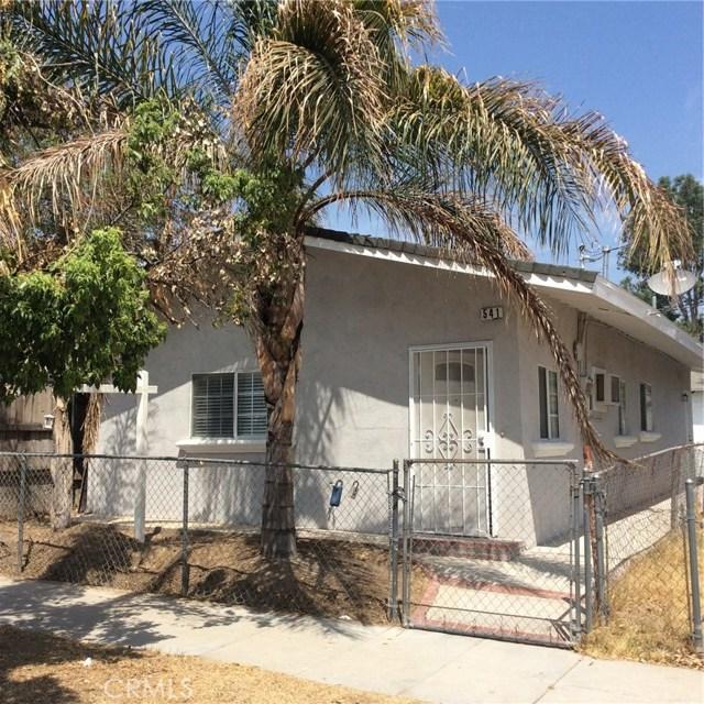 541 W F Street Colton, CA 92324 - MLS #: IG18203463