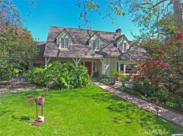 Single Family Home for Sale at 1812 Niodrara Drive Glendale, California 91208 United States