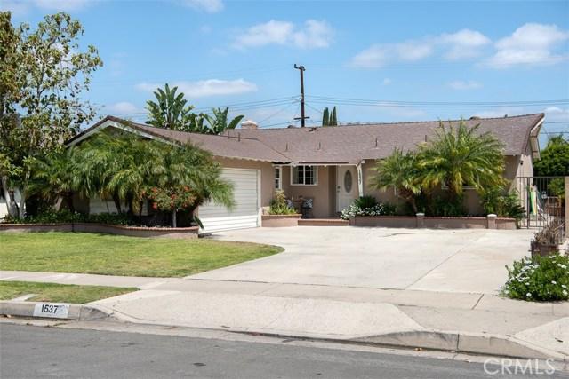 1537 W Harriet Ln, Anaheim, CA 92802 Photo 0