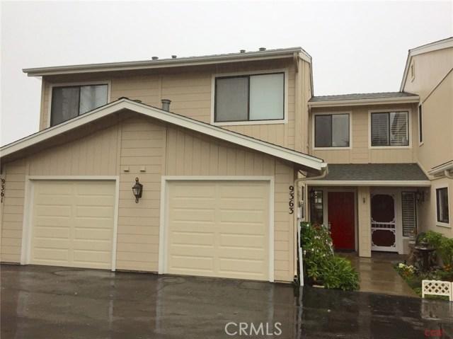 Condominium for Sale at 9363 Jasper Avenue San Simeon, California 93452 United States