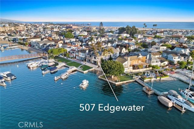 507 W Edgewater Avenue Newport Beach, CA 92661 - MLS #: OC18186730