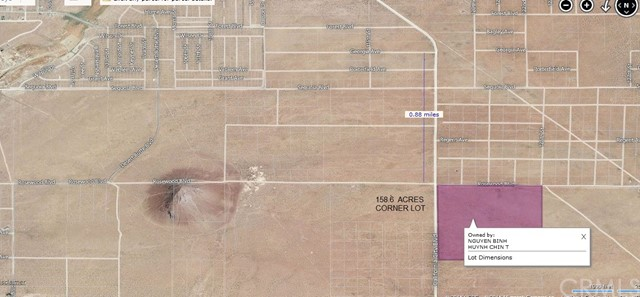 Land for Sale at 888 california city California City, California 93505 United States