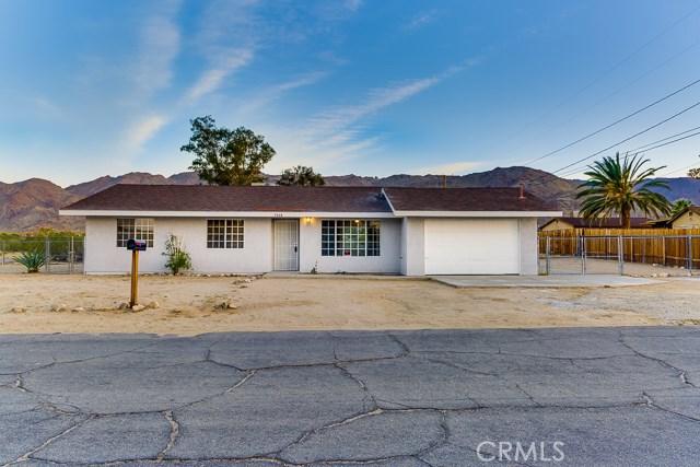 72487 Cactus Drive, 29 Palms, CA, 92277