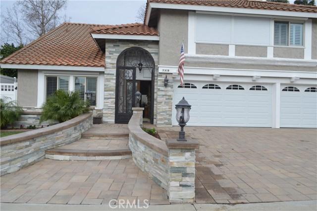 Single Family Home for Rent at 749 San Juan Lane Placentia, California 92870 United States