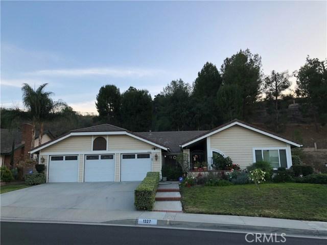 1327 S Red Bluff Lane, Walnut, California