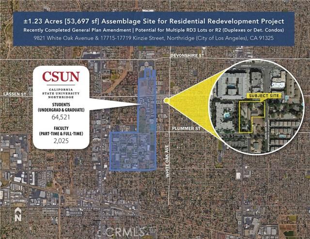 Land for Sale at 9821 White Oak Ave 9821 White Oak Ave Northridge, California 91325 United States