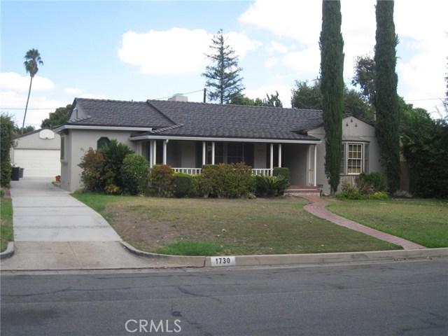 1730 Rubio Drive San Marino, CA 91108 - MLS #: WS17215870