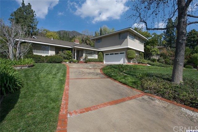 Single Family Home for Sale at 1115 Oakwood Place Sierra Madre, California 91024 United States
