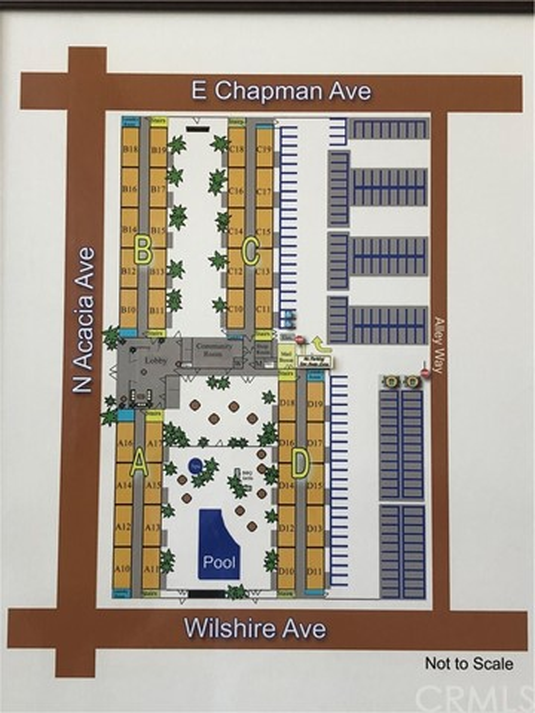 400 N Acacia Ave. C15 Fullerton, CA 92831 - MLS #: AR18178204