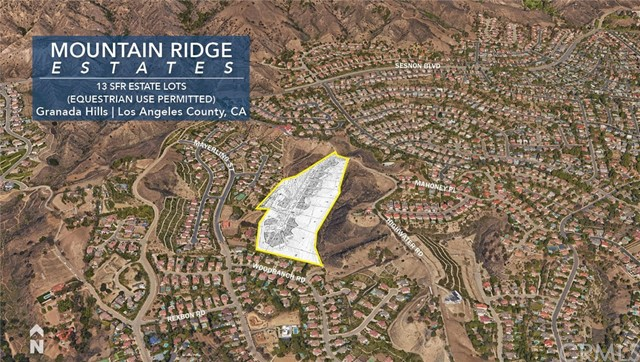 Land for Sale at 17900 Bull Canyon Road Granada Hills, 91344 United States
