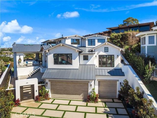 Single Family Home for Sale at 409 De Sola Corona Del Mar, California 92625 United States