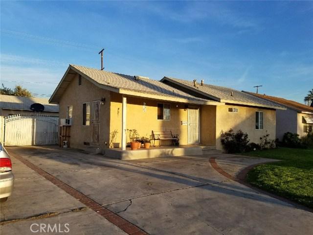 Single Family Home for Sale at 1391 Valencia Avenue San Bernardino, California 92404 United States