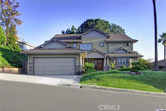Single Family Home for Sale at 3626 Saint Elizabeth Road Glendale, California 91206 United States