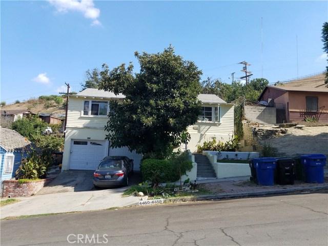 独户住宅 为 销售 在 4458 Bowman Boulevard El Sereno, 90032 美国