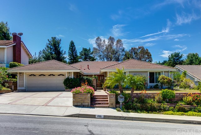 Single Family Home for Rent at 435 South Westridge St Anaheim Hills, California 92807 United States