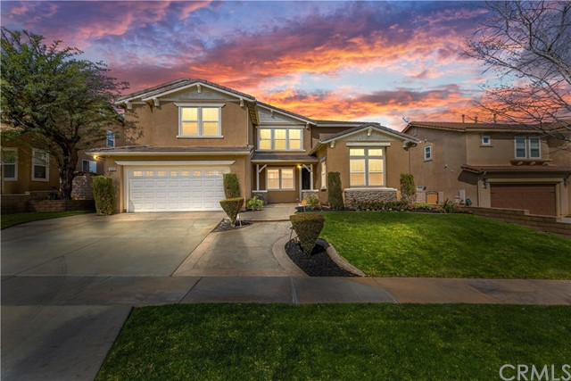 One of Custom Built Corona Homes for Sale at 3398  Amethyst Street